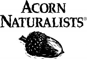 Acorn Naturalists Logo Stacked Blk 002